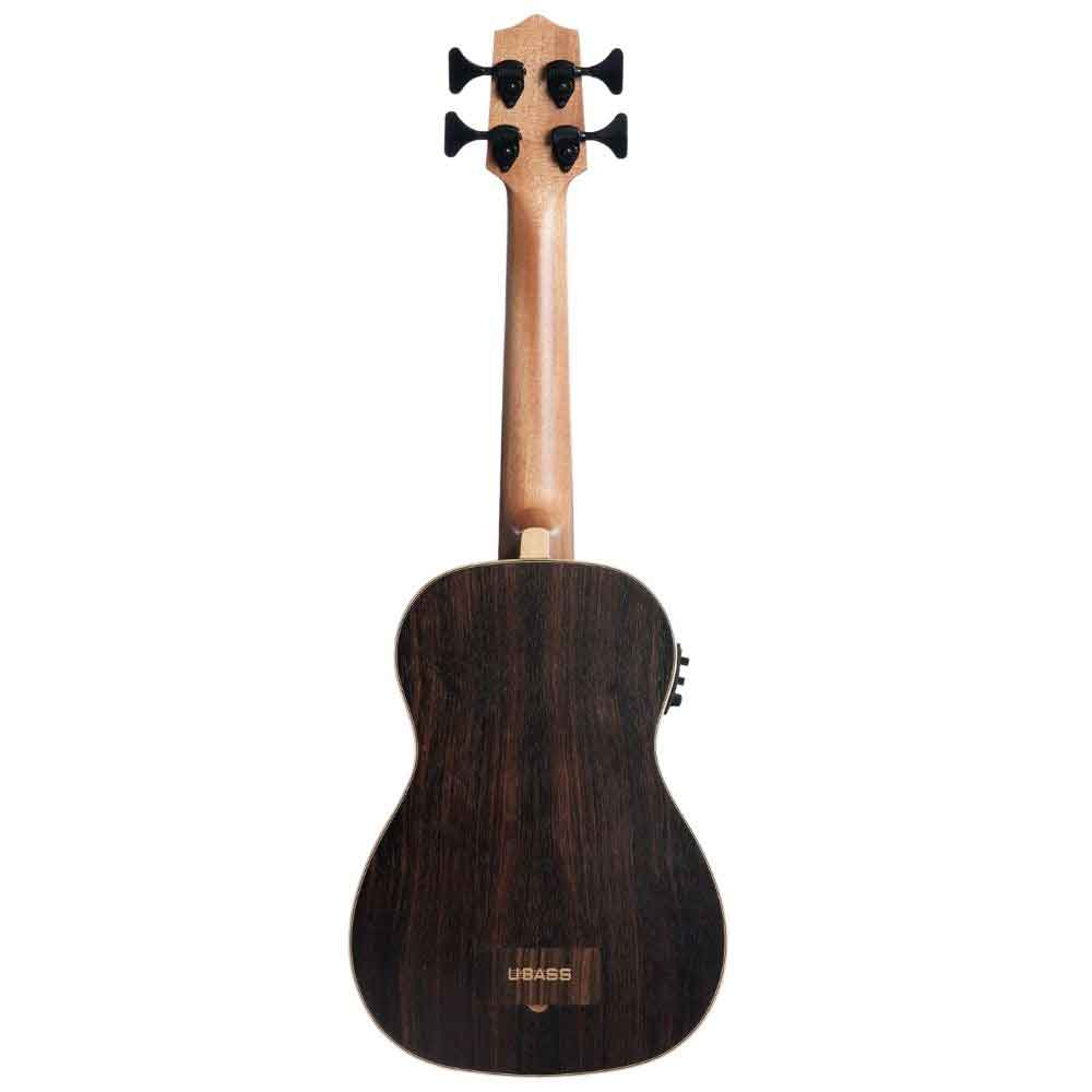 Kala U-BASS EBY FS Striped Ebony Acoustic-Electric