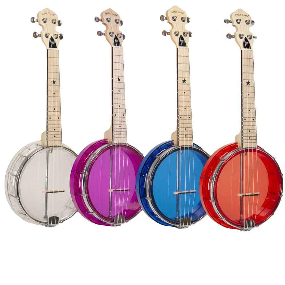 Little Gem Banjo Ukes All Colors