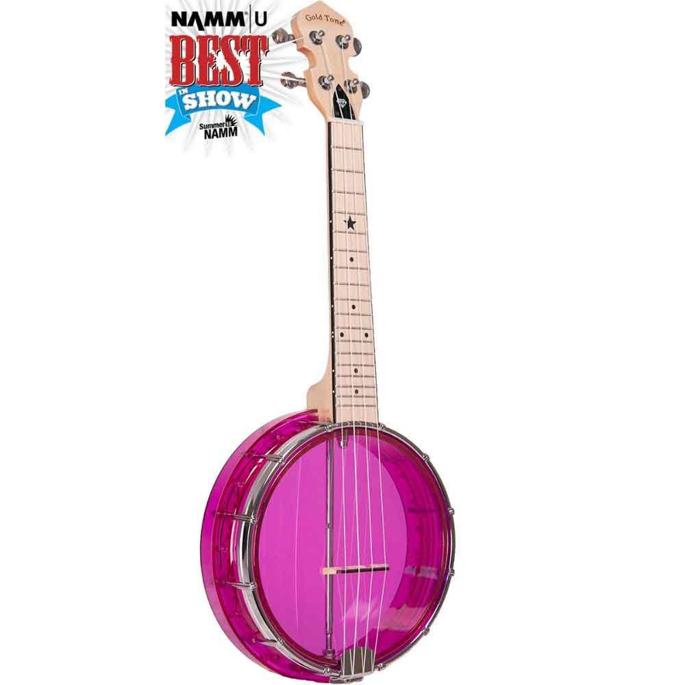Little Gem Banjo Uke Amethyst Color