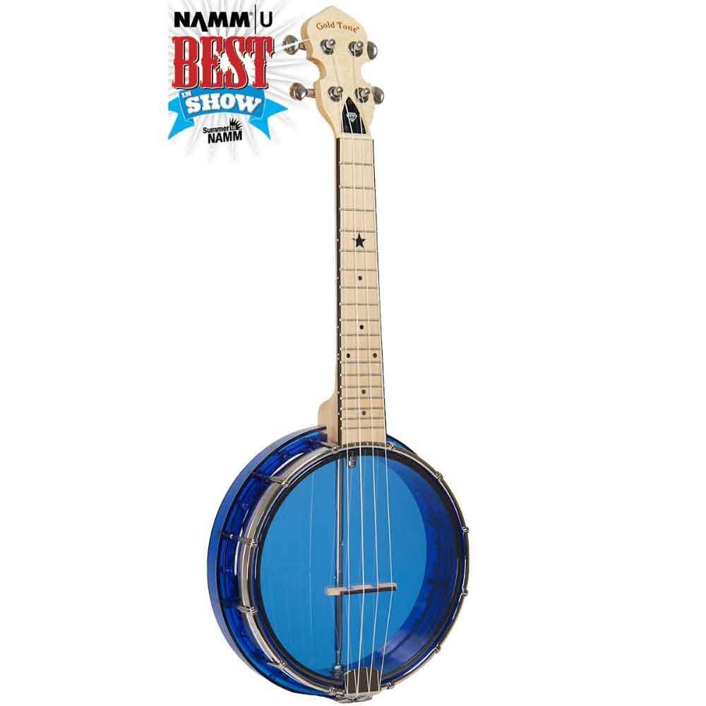 Little Gem Banjo Uke Sapphire Color