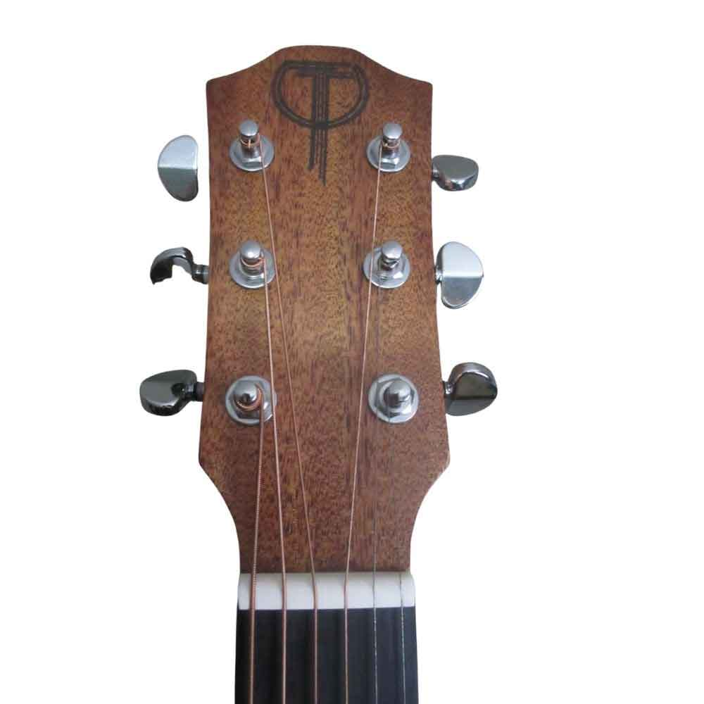 Teton STS10NT Front of Headstock