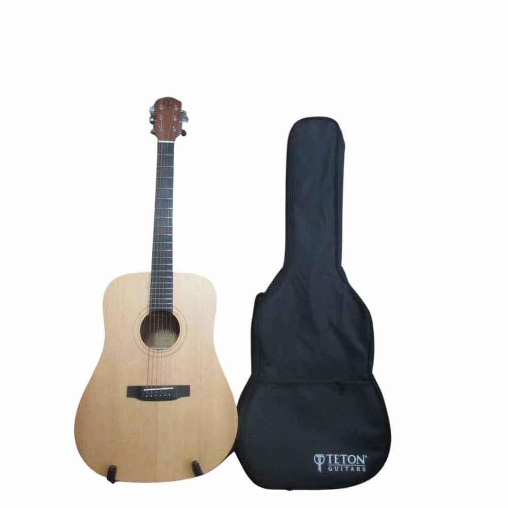 Teton STS10NT Guitar with Gig Bag